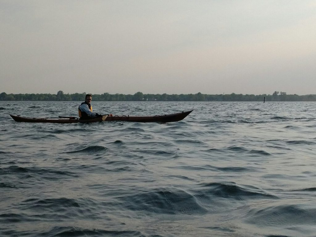 Dawn kayak mid-May