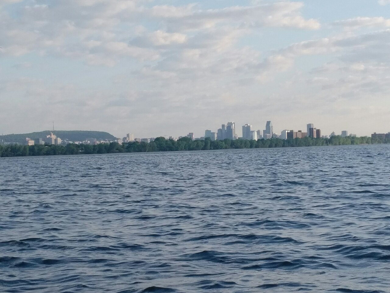 View to downtown, Mount Royal