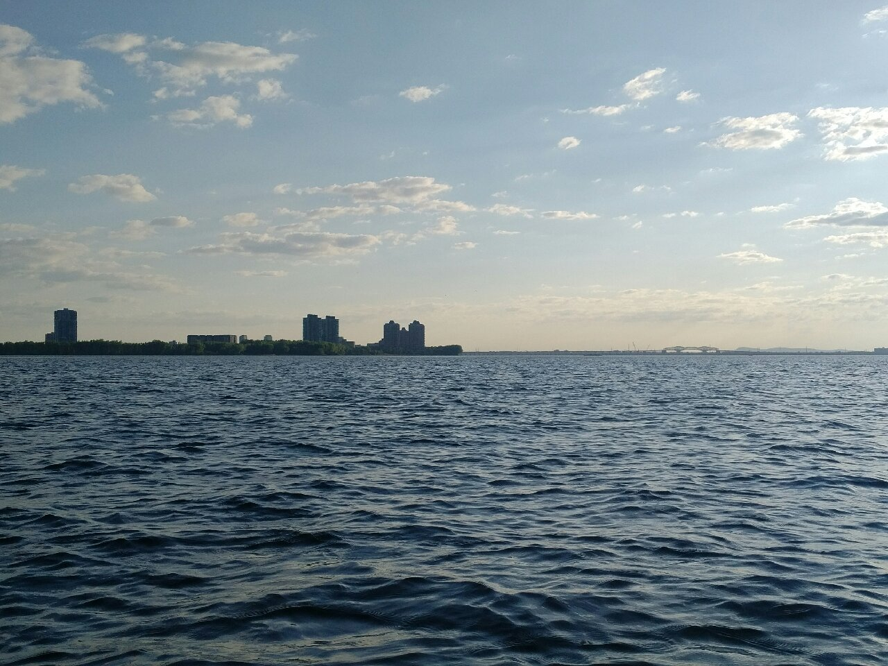 View to Nun's Island, Champlain Bridge